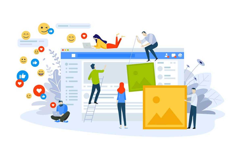 Facebook oldal menedzsment